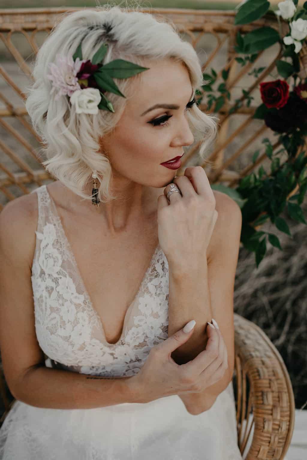 Dallas, TX Alternative Style Bridal Makeup LaDonna Stein