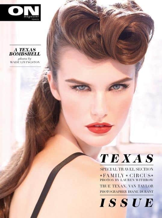 Texas Vintage Editorial Hair and Makeup