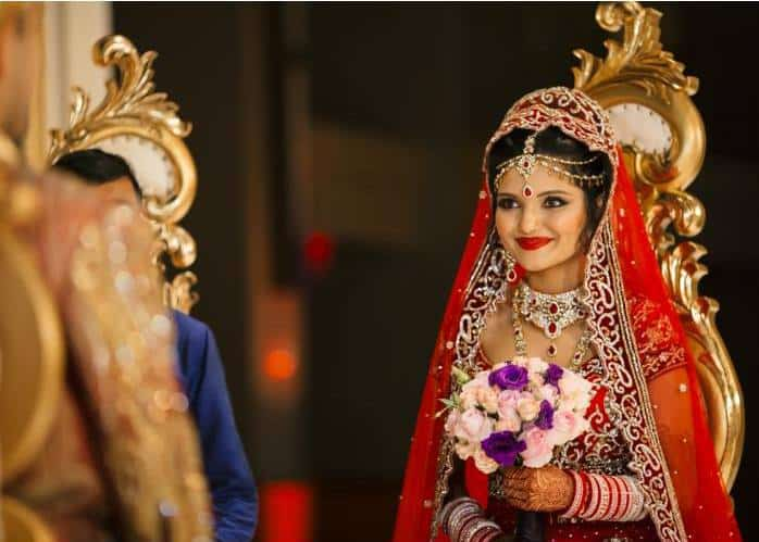 Indian Wedding Makeup and Hair by LaDonna Stein